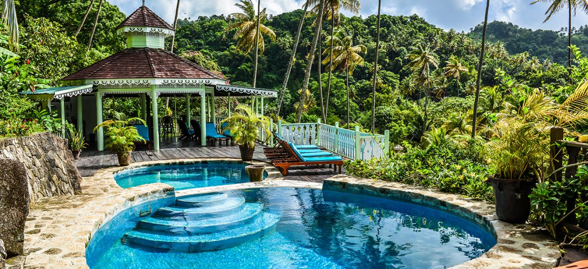 Cocotraie Fond Doux pool