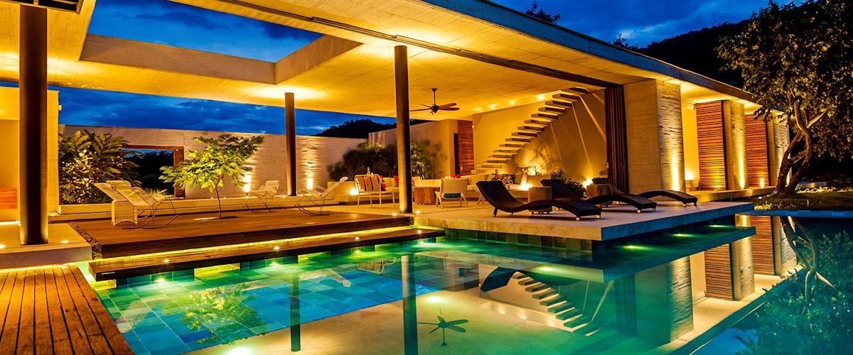 Pool-Lighting-Living-Space-Country-House-Villeta-Colombia